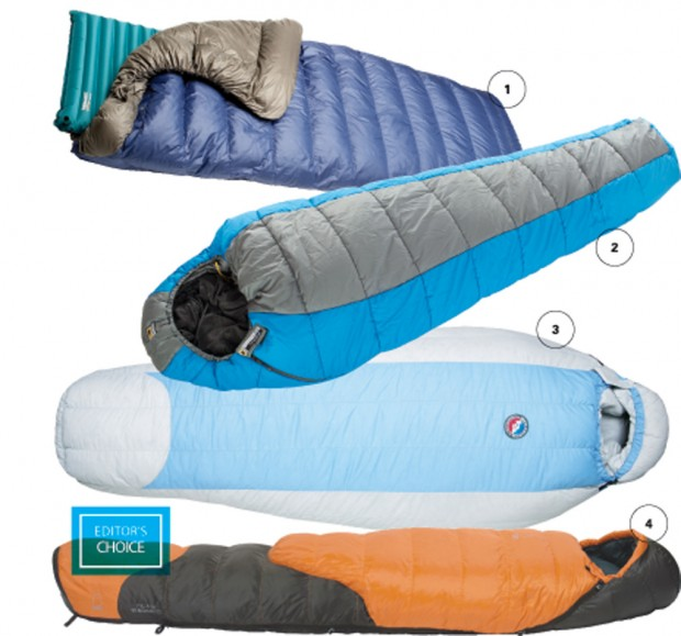 Elevation Outdoors Summer Gear Guide - Sleeping Bags