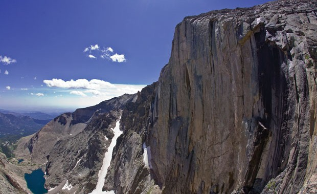 Face Time: Longs Peak's Diamond calls to climbers craving a big wall alpine experience—and keeps them coming back for its secrets. Photo: John Dickey