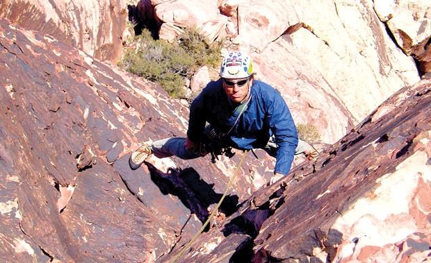 Roped: Coppolillo at Red Rocks. Photo: Courtesy Rob Coppolillo.