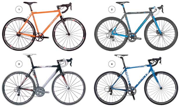 Meet the rides sure to bring you glory on the cyclocross course.