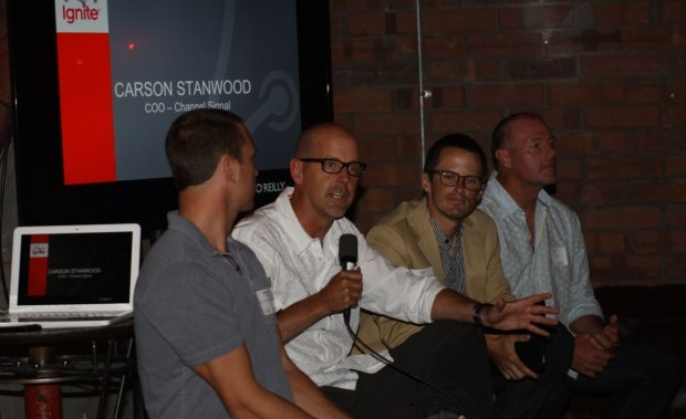 Panelists at Ignite share their expertise.