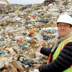 One person's trash... is every other person's trash: Jeb Berrier at a landfill on California's Monterey Peninsula. Photo: Courtesy Monterey Regional Waste Management District