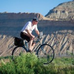 Cafe Cruising: The desert landscape of Grand Junction feels a bit like the Alps when L'Eroica rolls. Photo Devon Balet/devonbaletphoto.com