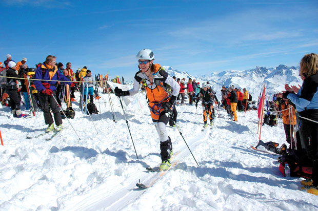 Sari Anderson will vie for the podium at the inaugural Winter Teva Mountain Games