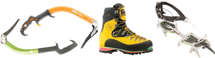 EO Tool Shed - Ice Climbing