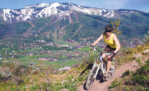 Steamboat Springs looks to establish itself as a biking destination.