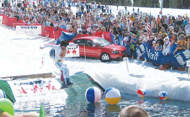 Spring Back to Vail Pond Skimming Contest.