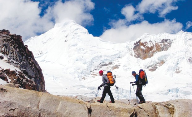 the high line: the Cordillera blanca serves up 16 peaks over 6,000 meters