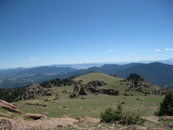 Bison Peak Approach