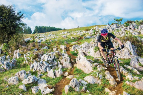 Riding Haiti