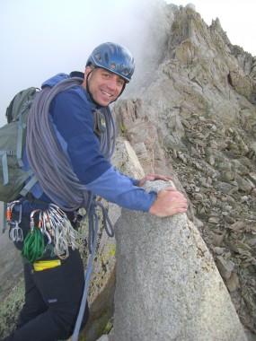 Short Roping in Rob Coppolillo's Alpine Course in the Sierras