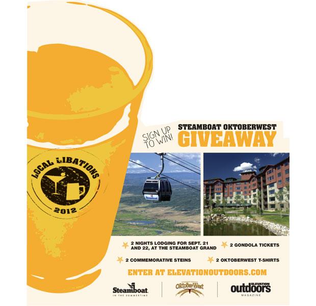 Steamboat Oktoberwest Giveaway
