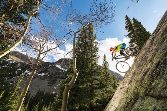 Downhill biking