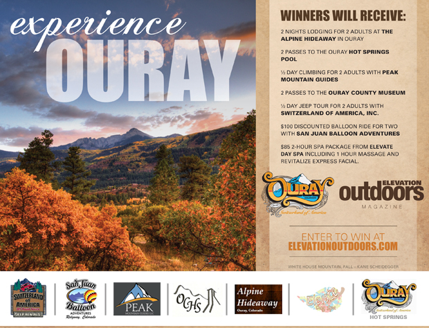 OURAY Giveaway