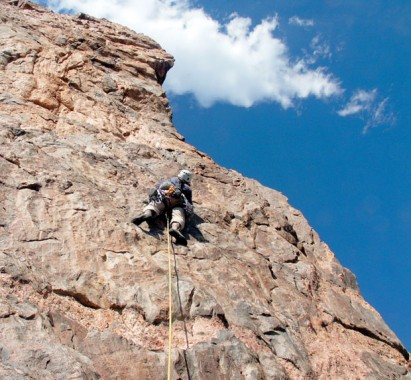 Climbing Black Canyon