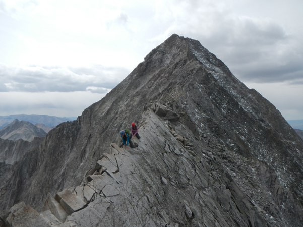 Capitol Peak Knife Edge Sheila Powell & Jenny Salentine