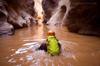 The Black Hole of White Canyon, UT