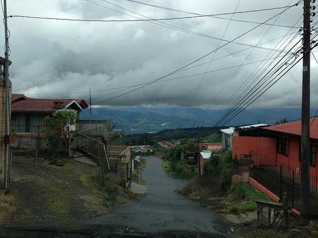 La Ruta from the car