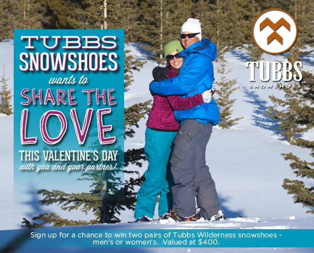 Tubbs Snowshoes Giveaway