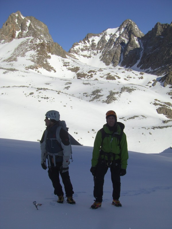 First Winter Ascent of the Palisade Traverse Goes Down to Guides