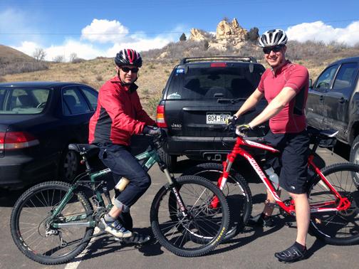 Biking at Red Rocks