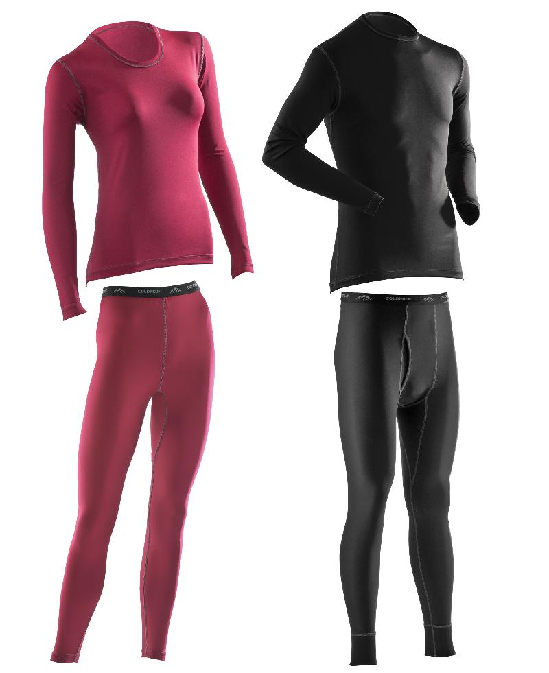 Coldpruf_trim fitting tights and long sleeve shirts