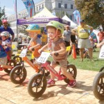 Tykes racing bikes. Photo: Courtesy Strider Bikes
