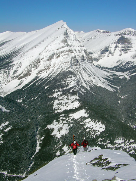 Take Off, Eh: Waterton is an obscure place for ski mountaineering, which only adds to the allure.
