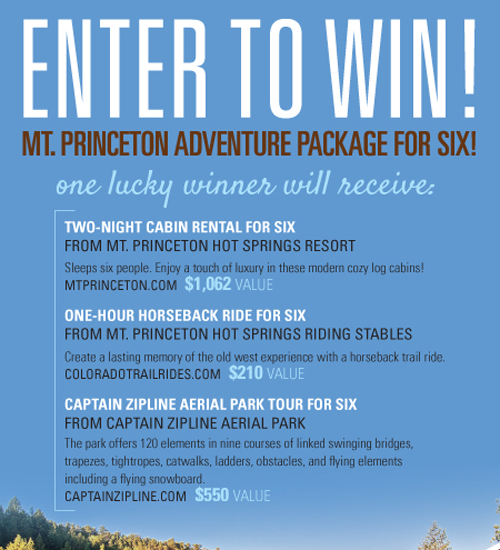 Mt. Princeton Adventure Package for Six