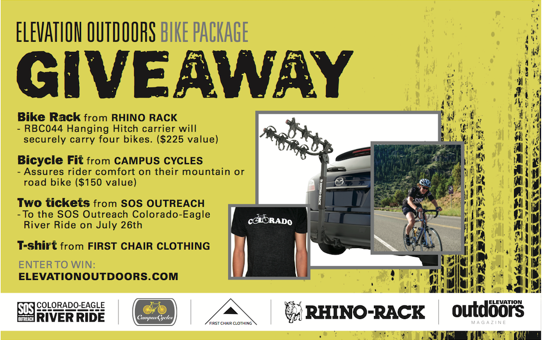 Elevation Outdoors Bike Package Giveaway