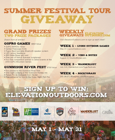 Summer Festival Tour Giveaway - Week Four