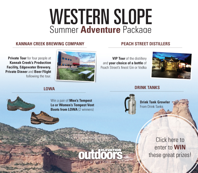 Western Slope Summer Adventure Giveaway