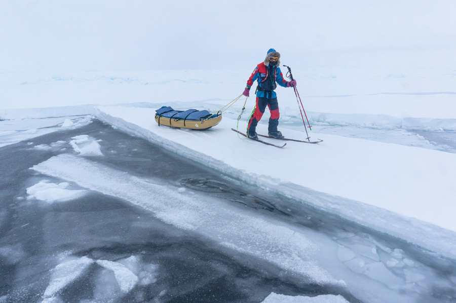 Polar Explorer Eric Larsen and His Record-Setting Sprint to the North Pole
