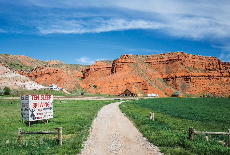 Ten Sleep, Wyoming, serves up cowboys, crimping and craft beer