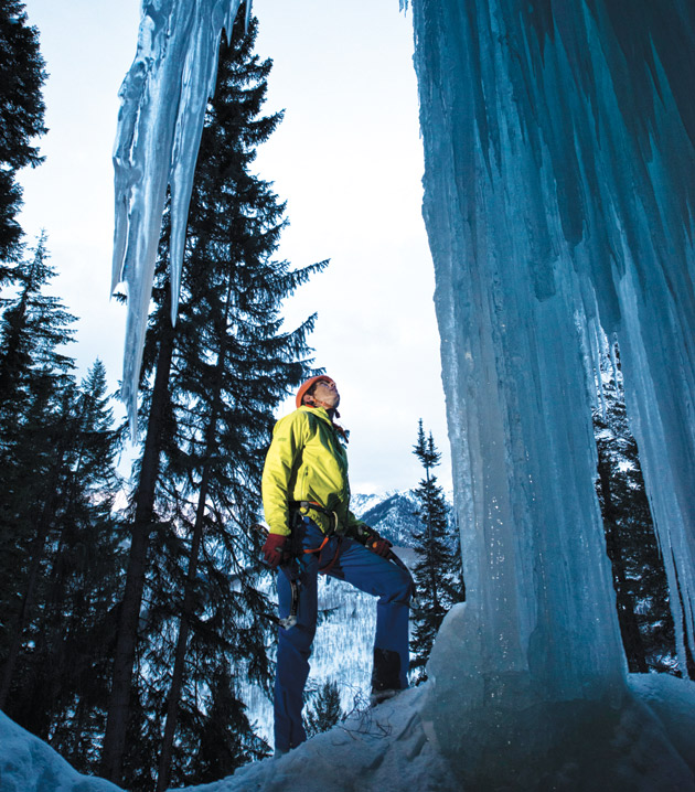 David Roetzel Solos 15 Vail Ice Climbs in One Day
