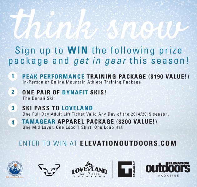 Think Snow Prize Package: Win Skis, Gear and Passes!