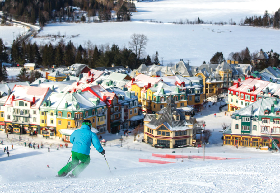 Eat, Sleep, Play in Mont Tremblant, Quebec