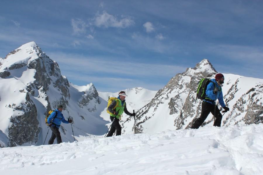 Polartec Alpha, Marmot, and Skiing with Exum Mountain Guides