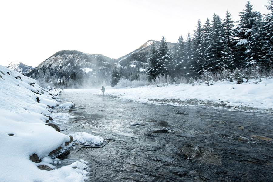 Cold Weather Fly Fishing with Nicky Anastas