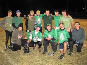 The 2008 Ullr's Donkey Punch champions team