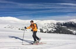 Uphill Skiing