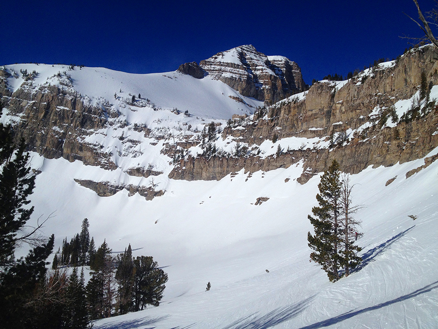 Cody Peak enroute to Four Pines.