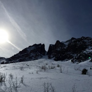 The Turkey Chute Couloir in all its glory. By Joe Risi
