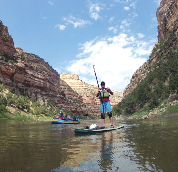 Upright Thrills: Stand-up Paddleboarding Takes on the Rapids