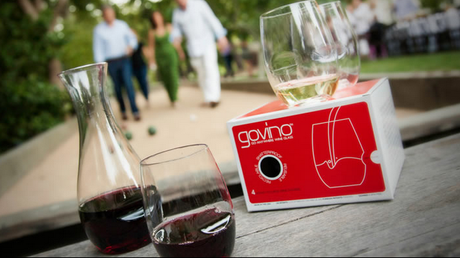 Govino Glasses Go Anywhere