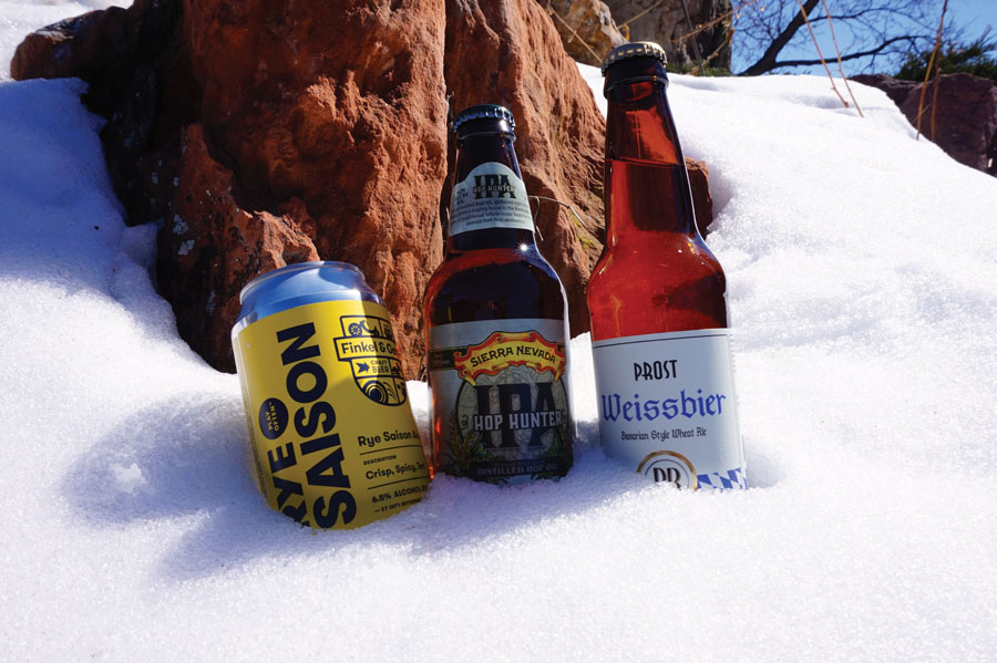 Sip Some Snowmelt: Enjoy Balmy Days and Cool Craft Beers