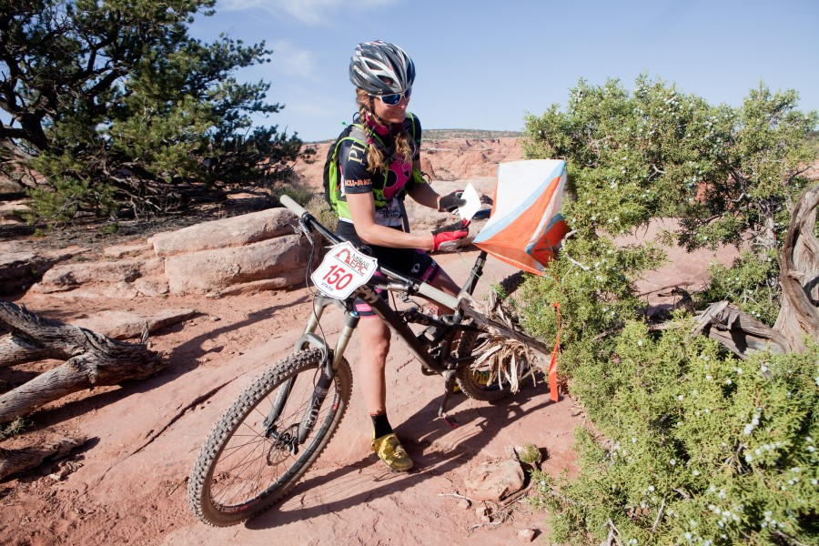 At the inaugural Moab Epic, racers will choose a route that allows them to hit as many checkpoints as possible across more than 50 miles of Moab's most famous trails.