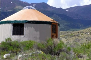 unique adventure exploring a yurt