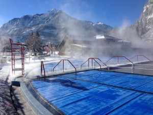 Ouray Hot Springs Pool. Photo courtesy Ouray Hotsprings Pool