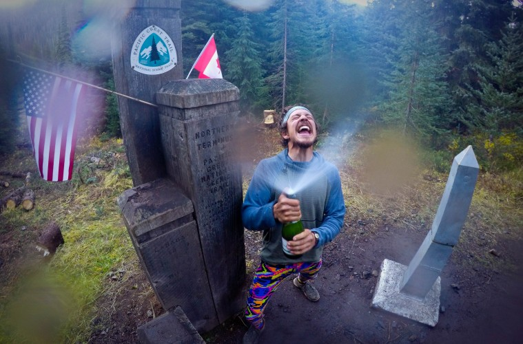 Cancer Survivor Hikes PCT for Childhood Cancer Research